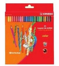 Набор цветных карандашей: 24 цвета, STABILO