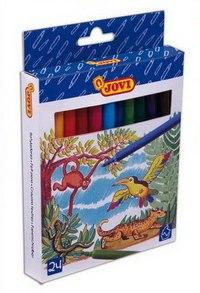 Набор фломастеров (24 цвета), JOVI