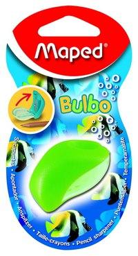 """Точилка пластиковая """"bulbo"""", 1 отверстие, с контейнером, Maped"""
