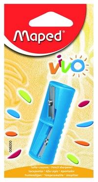 """Точилка пластиковая """"vivo"""", 2 отверстия, без контейнера, Maped"""