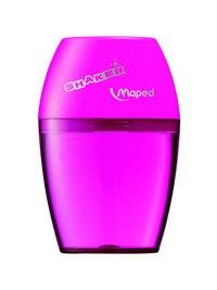 """Точилка пластиковая """"shaker"""", 1 отверстие, с контейнером, Maped"""