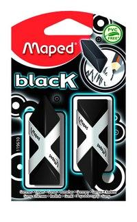 """Набор ластиков """"pyramide"""", черные, Maped"""