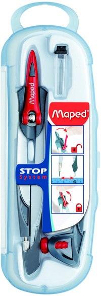 """Готовальня """"stop system"""", 3 предмета, Maped"""