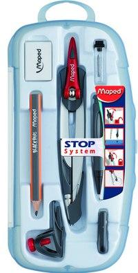 """Готовальня """"stop system"""", 7 предметов, Maped"""
