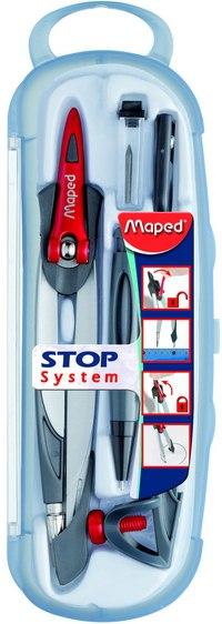 """Готовальня """"stop system"""", 5 предметов, Maped"""