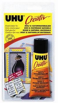Клей «creative» для дерева и природных материалов, UHU