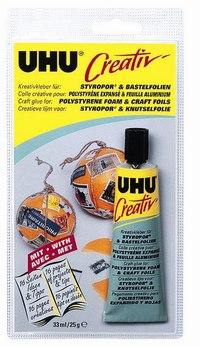 Клей «creative» для пенополистирола и фольги, UHU