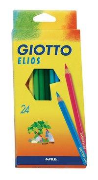 Набор цветных карандашей (24 цвета), FILA-GIOTTO