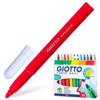 "Фломастеры утолщенные ""giotto turbo maxi"", 12 цветов, FILA-GIOTTO"