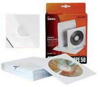 Конверты для cd/dvd, 50 штук, Aidata