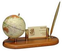 Набор настольный подарочный с глобусом, ручкой и визитницей tasmania, BeStar