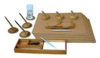 Настольный набор для переговоров (20 предметов, вишня) на 6 персон, BeStar