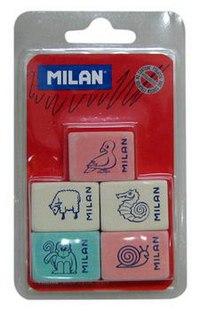 "Набор ластиков ""звери"", Milan"