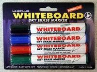 Набор маркеров для белой доски, 4 цвета, Line Plus