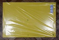 Картон плакатный, 10 листов, жёлтый, Werola