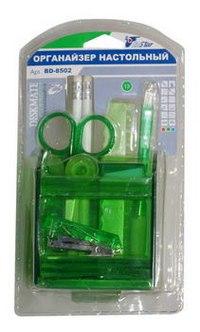 Настольный набор для начальной школы, 13 предметов, вращающийся, зелёный, EaSTar