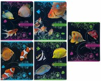 """Тетрадь """"сказочные рыбки"""", 48 листов, клетка, Альт"""
