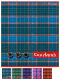 """Тетрадь """"шотландка"""", 48 листов, клетка, Альт"""
