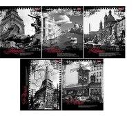 Тетрадь. города европы, 48 листов, клетка, Hatber