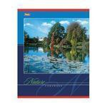 Тетрадь. пейзажи, 48 листов, клетка, Hatber