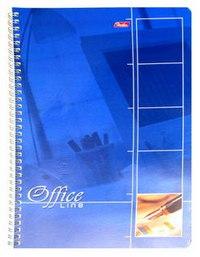 Тетрадь. office line, 80 листов, клетка, а4, Hatber
