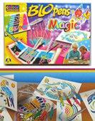Фломастеры воздушные магические. blopens magic, 10 цветов, Centropen