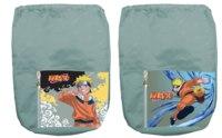Мешок для обуви, 1 отделение с карманом, Naruto