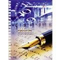 """Тетрадь """"офисный стиль. перьевая ручка"""", 80 листов, а6, Канц-Эксмо (Listoff, Unnika Land)"""