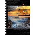 "Тетрадь ""пейзаж. чайки над морем"", 80 листов, а6, Канц-Эксмо (Listoff, Unnika Land)"