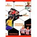 "Книга для записей ""футбол. желтая"", Канц-Эксмо (Listoff, Unnika Land)"