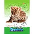 """Книга для записей """"пятнистый леопард"""", Канц-Эксмо (Listoff, Unnika Land)"""