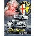 """Книга для записей """"девушки и авто. белый кабриолет"""", Канц-Эксмо (Listoff, Unnika Land)"""