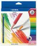 """Цветные карандаши """" osiris aquarell"""", 24 цвета, LYRA"""