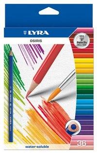 """Цветные карандаши """" osiris aquarell"""", 36 цветов, LYRA"""