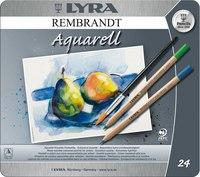 """Акварельные карандаши """" rembrandt aquarell"""", 24 цвета, LYRA"""