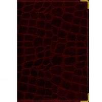 Книга для записей а4 (prestige), 160 листов, линия. grand croco бордо (лак), Канц-Эксмо (Listoff, Unnika Land)
