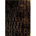 Книга для записей а4 (prestige), 160 листов, линия. croco темно-коричневый (лак), Канц-Эксмо (Listoff, Unnika Land)