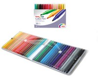 Фломастеры color pen, 36 цветов, Pentel
