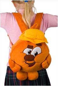 . рюкзак в виде персонажа копатыч, Смешарики