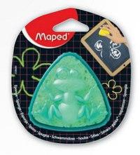 Губка для маркерных и меловых досок, треугольная, Maped