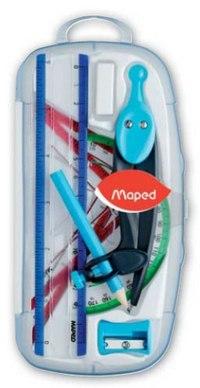 Готовальня graphic, 8 предметов, Maped