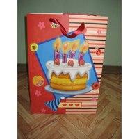 """Пакет подарочный бумажный """"день рождения! праздник"""", Beifa"""