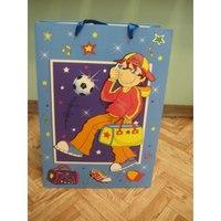 """Пакет подарочный бумажный """"мальчишки и девчонки"""", Beifa"""