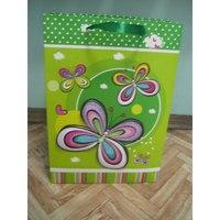 """Пакет подарочный бумажный """"бабочки"""", Beifa"""