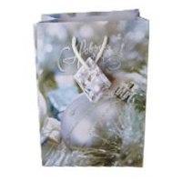 """Пакет подарочный бумажный """"с новым годом"""", Miraculous"""