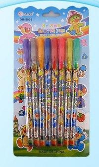 Набор цветных гелевых ручек, 8 цветов, Miraculous