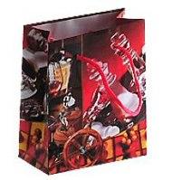 Пакет подарочный бумажный, рисунок - мужская тематика, Miraculous