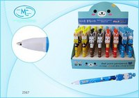 """Автоматическая шариковая ручка """"животные"""", синяя, Miraculous"""