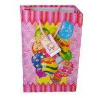 """Пакет подарочный бумажный """"с днём рождения"""", Miraculous"""