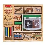 """Набор печатей """"лошади"""", Melissa & Doug"""